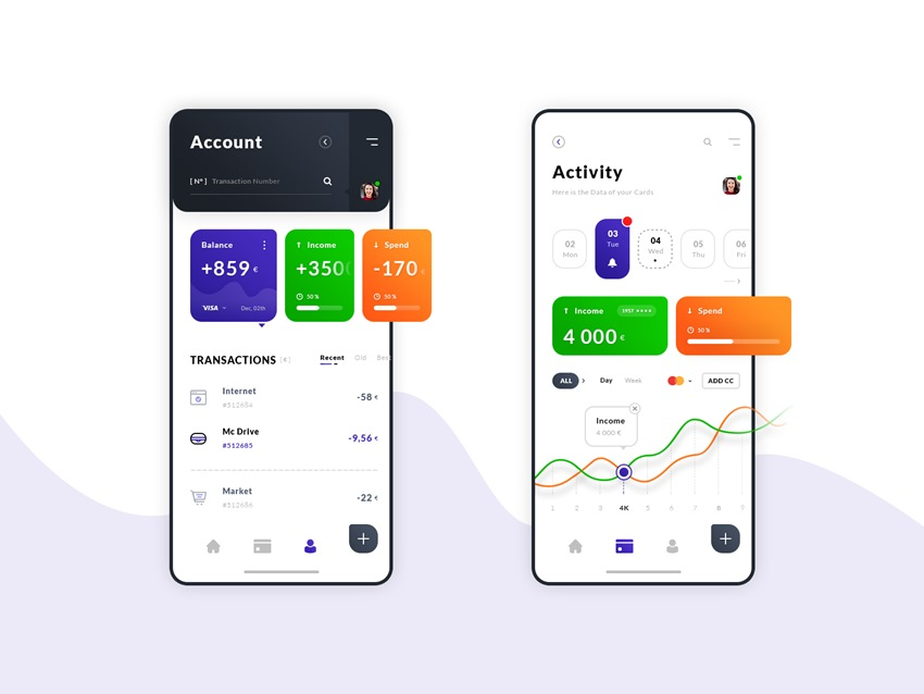Account and Activity App