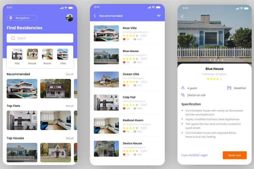 Residence-Booking-App